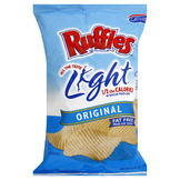 Ruffles Light Potato Chips, Original, 6.5 oz (184 g) at mygofer.com
