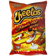 Cheetos Cheese Flavored Snacks, Crunchy, Flamin' Hot, 9 oz (255.1 g) at Kmart.com