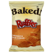 Frito Lay Baked! Potato Crisps, Cheddar & Sour Cream, 9 oz (255.1 g) at Kmart.com