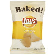 Lay's Baked! Potato Crisps, Original, 1.125