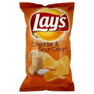 Frito Lay Potato Chips, Flavored, Cheddar & Sour Cream, 10.5 oz (297.6 g) at Kmart.com