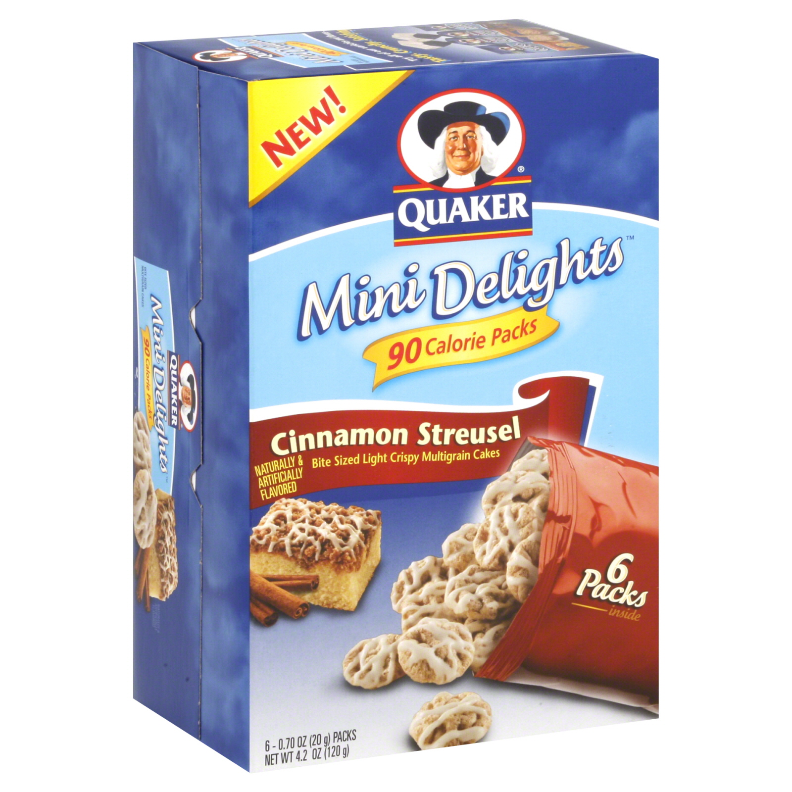 Quaker  Mini Delights Multigrain Cakes,