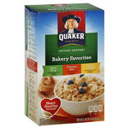 Quaker Bakery Favorites Oatmeal, Instant, Assorted, 10 packets [14.6 oz (416 g)] at Kmart.com