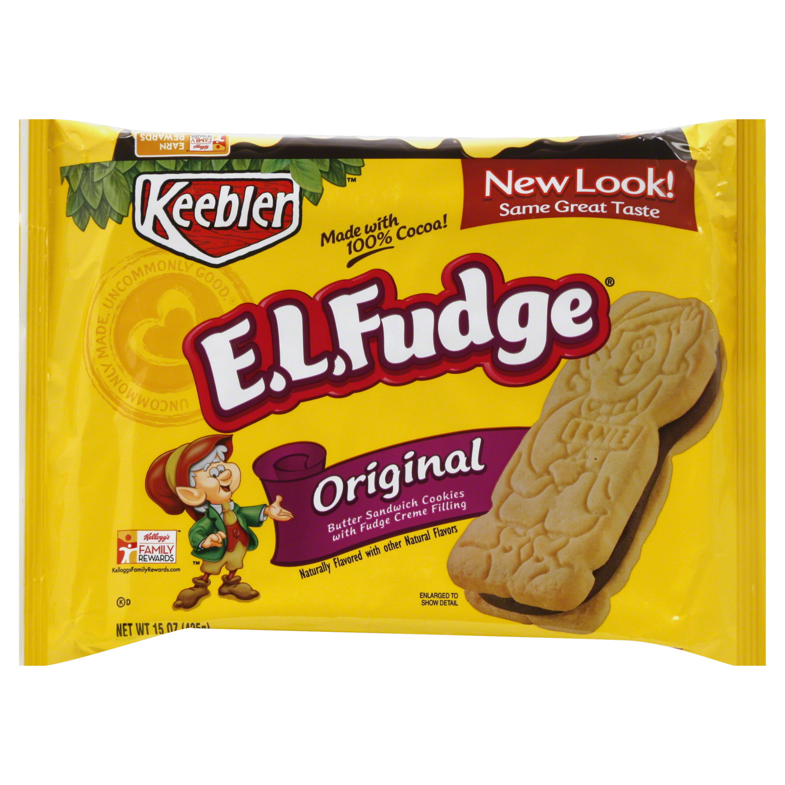E.L. Fudge Cookies, Sandwich, Original, 15 oz (425 g)                                                                            at mygofer.com