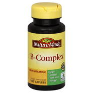 Nature Made B-Complex, with Vitamin C, Caplets, 100 caplets at Kmart.com