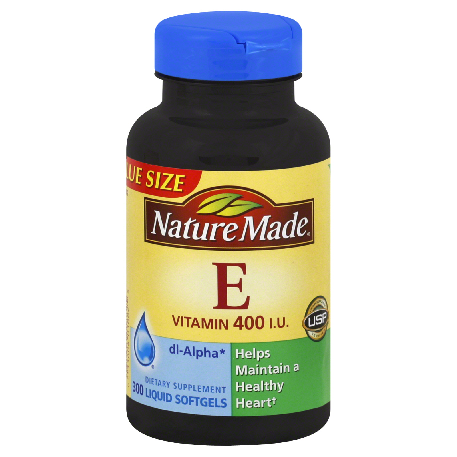 Vitamin E, 400 IU, Liquid Softgels, Value Size, 300 softgels                                                                     at mygofer.com