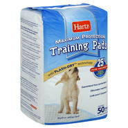 Hartz Training Pads, Maximum Protection, 50 pads at Kmart.com