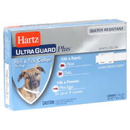 Hartz Ultra Guard Plus Flea & Tick Collar, for Dogs, Clean Fresh Scent, 1 - 1.16 oz (33 g) collar at Sears.com