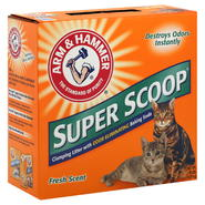 Arm & Hammer Super Scoop Clumping Litter, Fresh Scent, 20 lb (9.07 kg) at Kmart.com