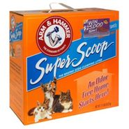 Arm & Hammer Super Scoop Baking Soda Clumping Litter, Fragrance Free, 236 oz (21 lbs) 9.52 kg at Kmart.com