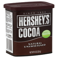 Hershey's Cocoa, Natural, Unsweetened, 8 oz (226 g) at Kmart.com