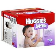 Huggies Supreme Wipes, Thick 'n' Clean, Fragrance Free, 320 wipes at Kmart.com
