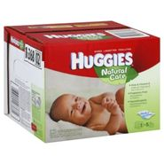 Huggies Natural Care Baby Wipes, Fragrance Free, 360 wipes at Kmart.com