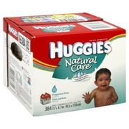 Huggies Natural Care Baby Wipes, Fragrance Free, 384 wipes at Kmart.com