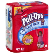 Huggies Pull-Ups Training Pants, Size 4T-5T, 38+ lb, Mega, 33 pants at Kmart.com