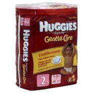 Huggies Supreme Gentle Care Diapers, Size 2 (12-18 lbs), Winnie the Pooh, Super Mega, 80 diapers at Kmart.com