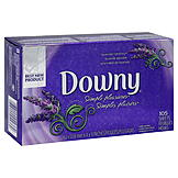 Downy Simple Pleasures Fabric Softener Sheets, Lavender Serenity, 105 sheets at mygofer.com