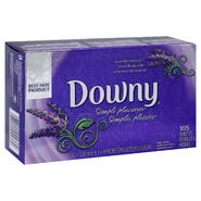 Downy Simple Pleasures Fabric Softener Sheets, Lavender Serenity, 105 sheets at Kmart.com