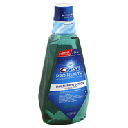 Crest Pro-Health CPC Antigingivitis/Antiplaque Oral Rinse, Multi-Protection, Cool Wintergreen, 33.8 fl oz (1 lt) at Kmart.com