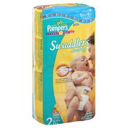 Pampers Swaddlers New Baby Diapers, Size 2 (12-18 lb), Sesame Beginnings, Jumbo, 40 diapers at Kmart.com
