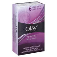 Olay Age Defying Moisturizing Bars, White, 6 - 4.25 oz (120 g) bars [25.3 oz (1.5 lb) 720 g] at Kmart.com