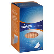 Always Infinity Pads, Flexi-Wings, Overnight, 28 pads at Kmart.com