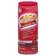 Metamucil MultiHealth Fiber Fiber, Sugar-Free, Berry Smooth, 15 oz (425 g) at Kmart.com