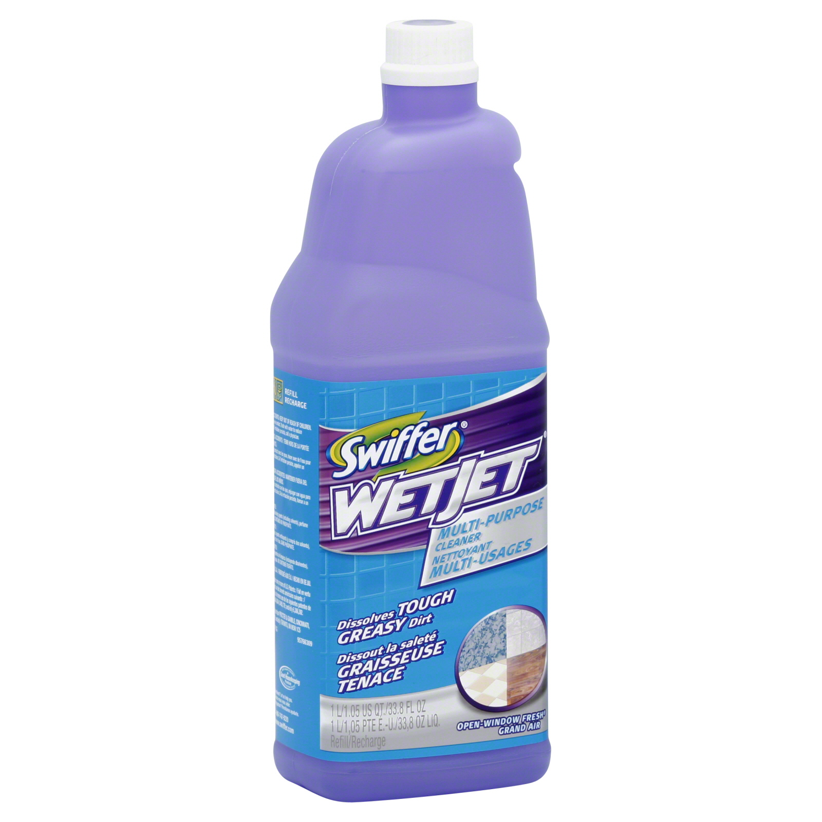 Swiffer Wetjet Multi Purpose Cleaner 33 8 Fl Oz 1 05 Qt