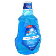 Crest Pro-Health Oral Rinse, Multi-Protection, Refreshing Clean Mint, 50.7 fl oz (1.5 lt) at Kmart.com