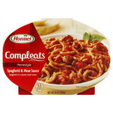 Hormel Compleats Homestyle Spaghetti, Meat Sauce, 10 oz (283 g) at mygofer.com