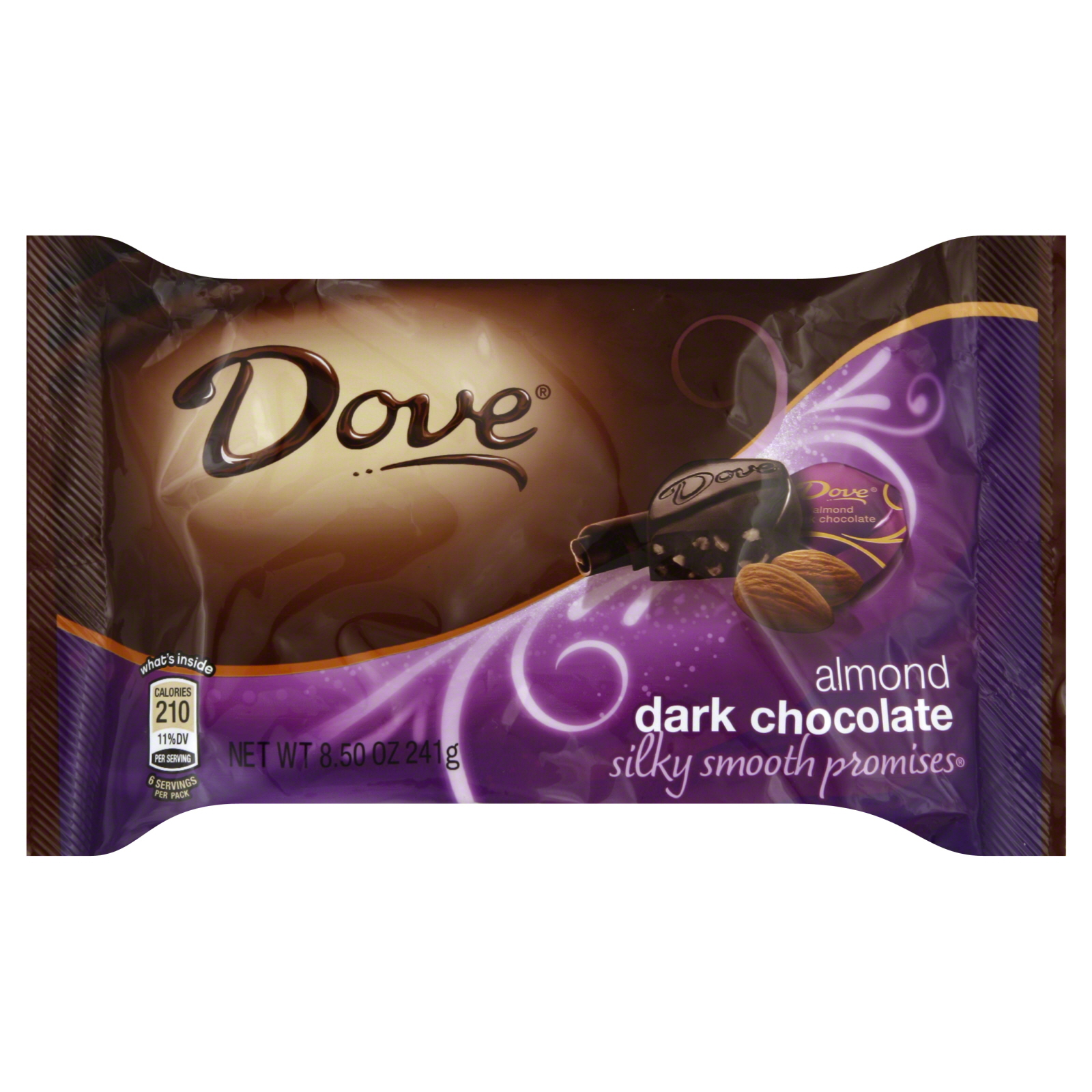 Dark Chocolate, Almond, 8.5 oz (241 g)                                                                                           at mygofer.com