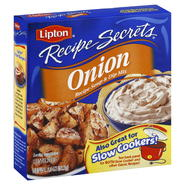 Lipton Recipe Secrets Recipe Soup & Dip Mix, Onion, 2 envelopes [2 oz (56.7 g)] at Kmart.com