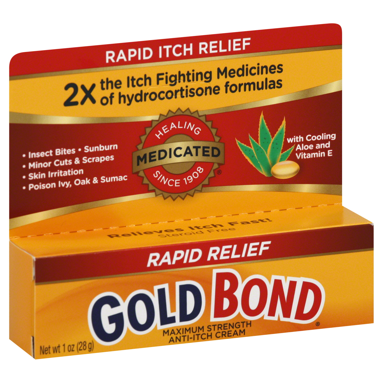 Anti-Itch Cream, Medicated, Maximum Strength, 1 oz (28 g)                                                                        at mygofer.com