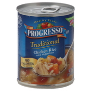Progresso Traditional Soup, Chicken Rice with Vegetables, 19 oz (1 lb 3 oz) 538 g at Kmart.com