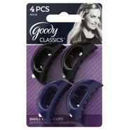 Goody Classic Small Curved Claw Clips, 4 CT at Kmart.com