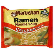 Maruchan Soup, Ramen Noodle, Chicken Flavor, 3 oz (85 g) at Kmart.com