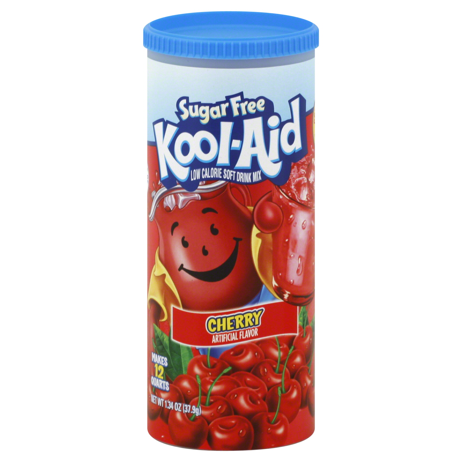Soft Drink Mix, Sugar Free, Cherry, 6 sticks [1.34 oz (37.9 g)]                                                                  at mygofer.com