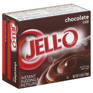 Jell-O Pudding & Pie Filling, Instant, Chocolate Flavor, 3.9 oz (110 g) at Kmart.com