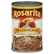 Rosarita Beans, Refried, Traditional, 16 oz (1 lb) 454 g at Kmart.com