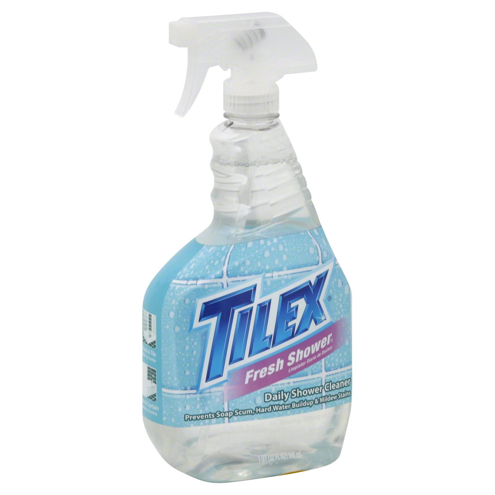 Tilex Daily Shower Cleaner, Fresh Shower, 32 Fl Oz (1 Qt) 946 Ml