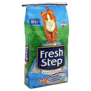 Fresh Step Clay Cat Litter, With Odor Eliminating Carbon, 14 lbs (6.35 kg) at Kmart.com