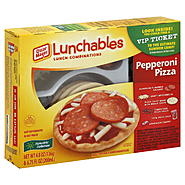 Lunchables Lunch Combinations, Pepperoni Pizza, 1 kit at Kmart.com