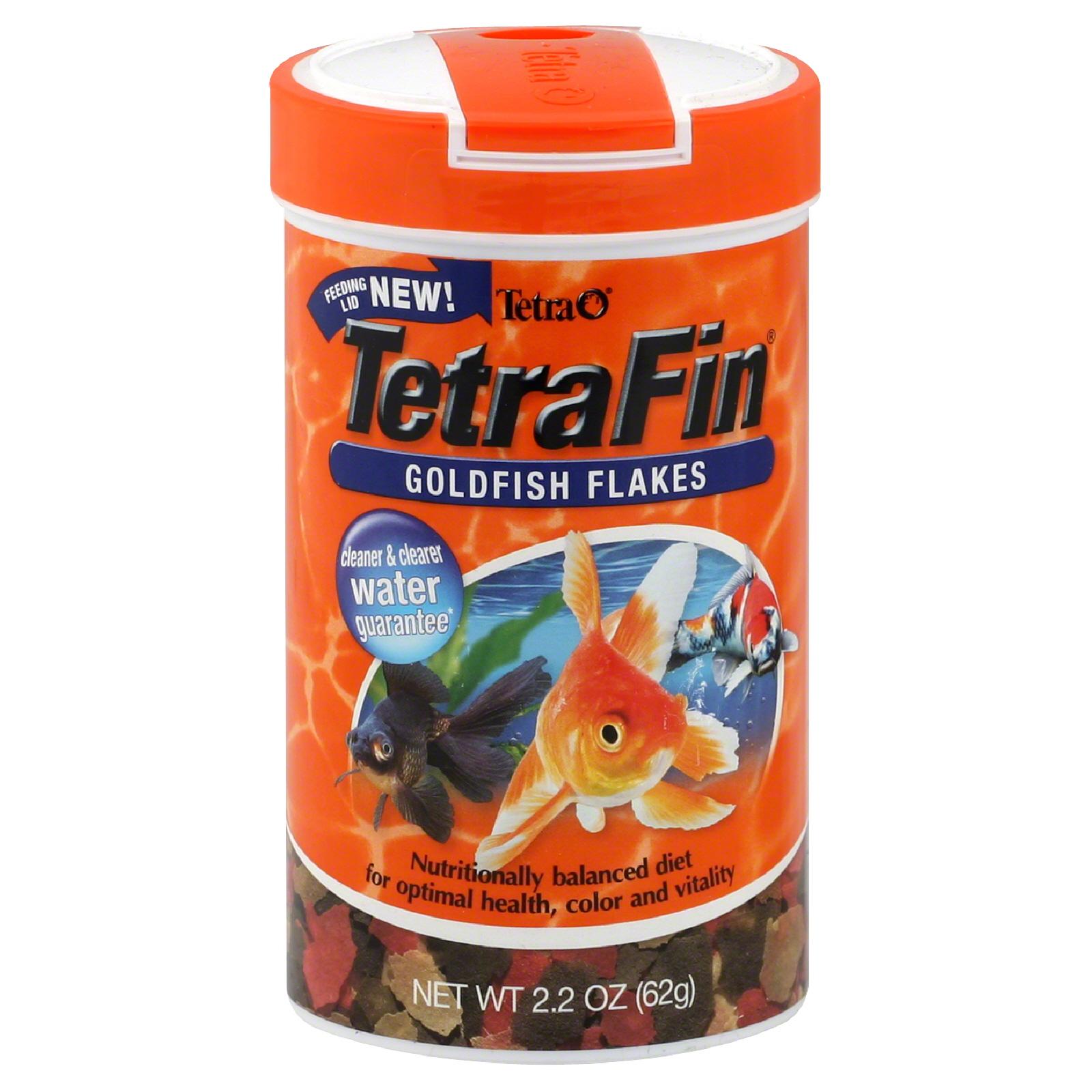 Tetra Usa Inc. Fin Goldfish Flakes, 2.2 oz (62 g) im test