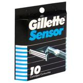 Gillette Sensor Cartridges, 10 cartridges at mygofer.com