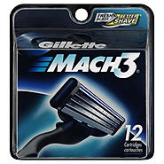 Gillette Mach3 Cartridges, 12 cartridges at Kmart.com