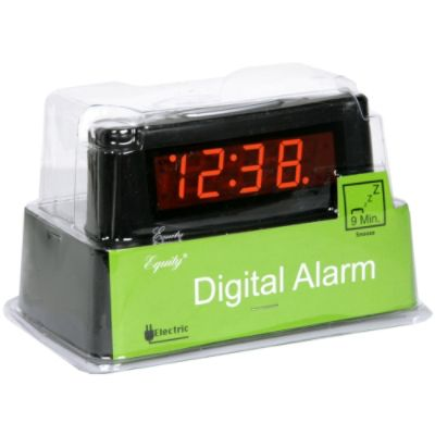 Equity by La Crosse Digital Alarm, Electric, 1 alarm