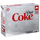 Coca Cola Cola, Diet, 20 - 12 fl oz (355 mg) cans [240 fl oz (7.1 lt)] at mygofer.com