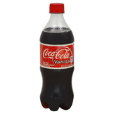Coca-Cola Cola, Vanilla, 20 fl oz (1.25 pt) 591 ml at mygofer.com