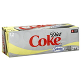 Coca Cola Cola, Diet, Fridge Pack, 12 - 12 fl oz (355 ml) cans [144 fl oz (4.26 lt)] at mygofer.com