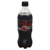 Coca Cola Zero Cola, Cherry, 20 fl oz (1.25 pt) 591 ml at mygofer.com